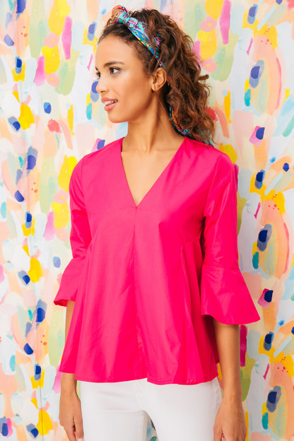 pink addie blouse