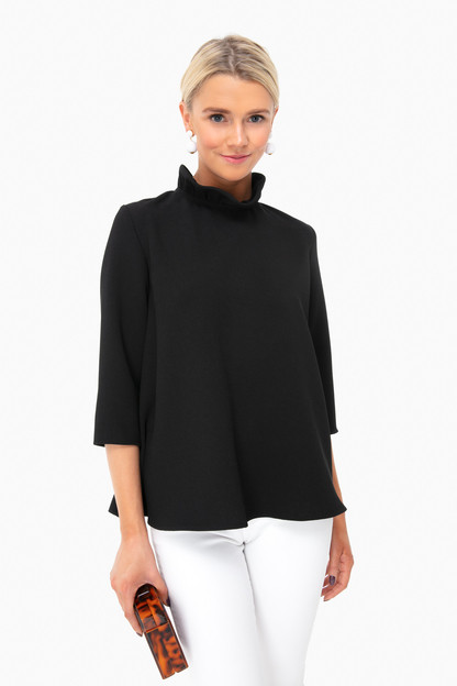 black faye blouse