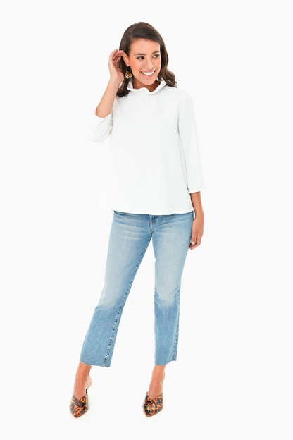 White Faye Blouse Take up to 30% off with code BIGSALE.