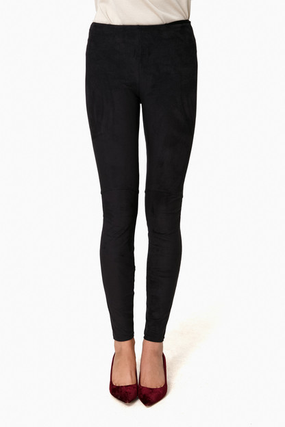 High Waist Suede Legging