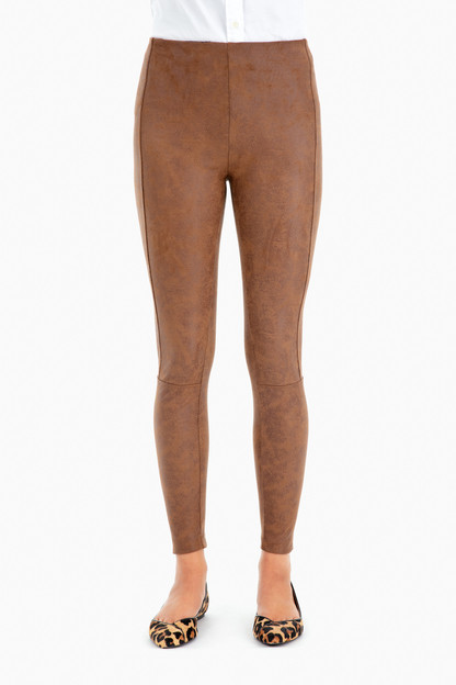 Buffed Suede Legging
