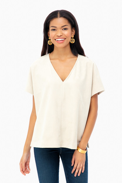 Clara Suede Top Take an extra 30% off with code: HOORAY