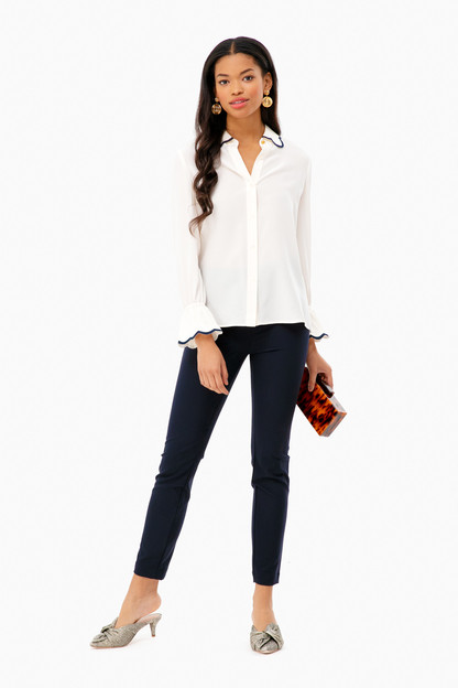 scallop edge shirt