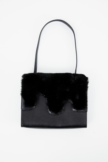 black mod shoulder bag