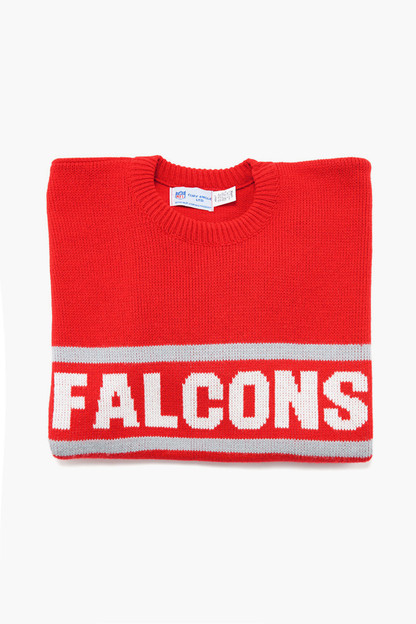 red falcons sweater