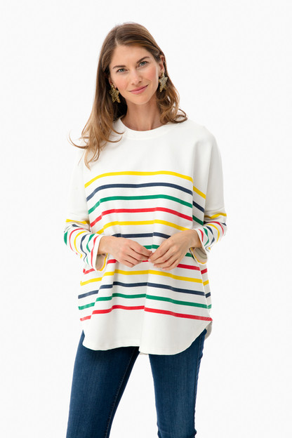 Rainbow Evie Swing Sweatshirt