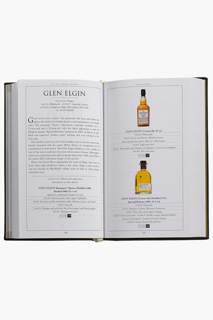 single malt scotch book