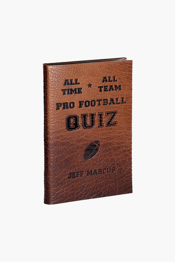 all-time, all-team pro football quiz