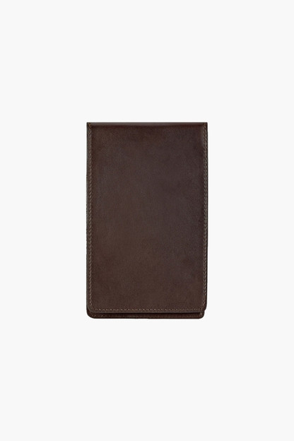 golf yardage/scorecard leather cover