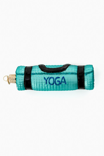 yoga mat ornament