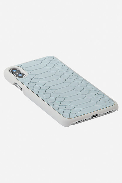 embossed python iphone x case