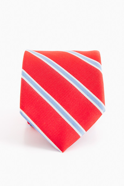 james striped tie