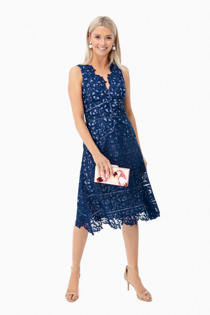 deep bay lace dress