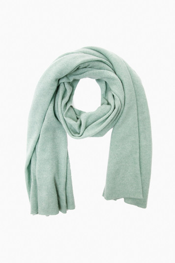 soft sage heather cashmere travel wrap