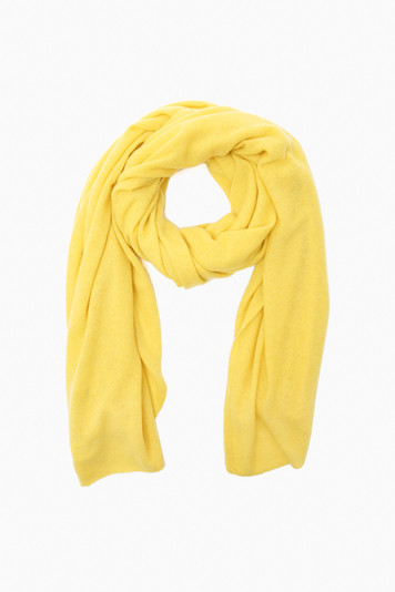 citrus heather cashmere travel wrap