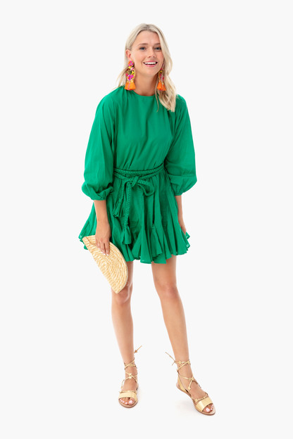 green ella dress