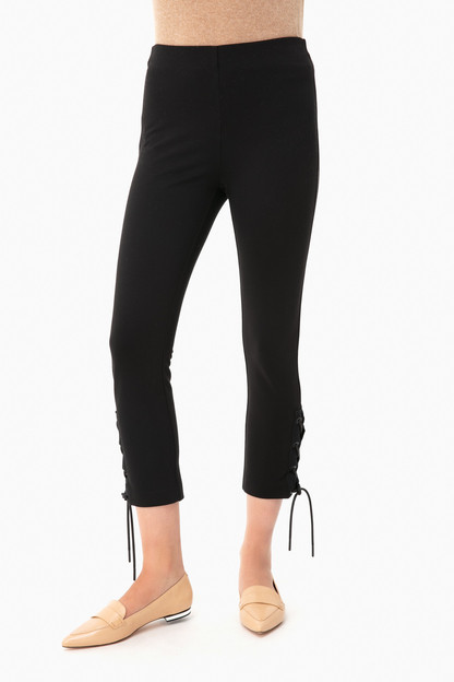 Simone Lace Up Pant