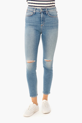 nina high rise ankle skinny
