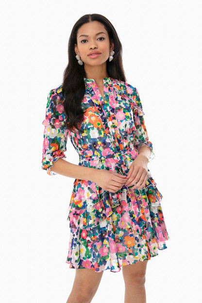 tilly ruffle dress