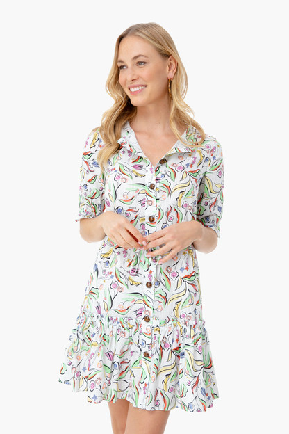 white wildflower billie-c dress