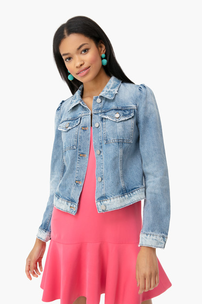 chantal wash classic denim jacket
