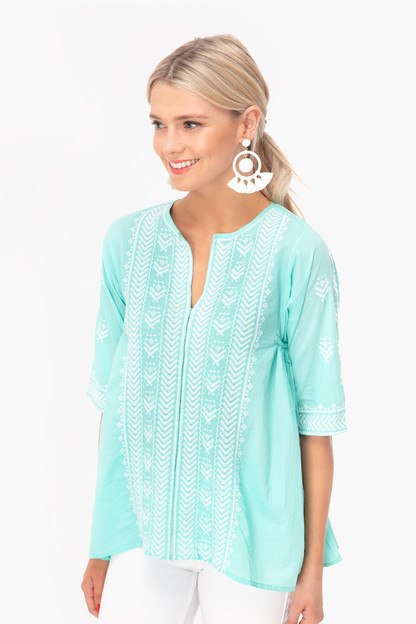 Mint Bhopali Mada Top