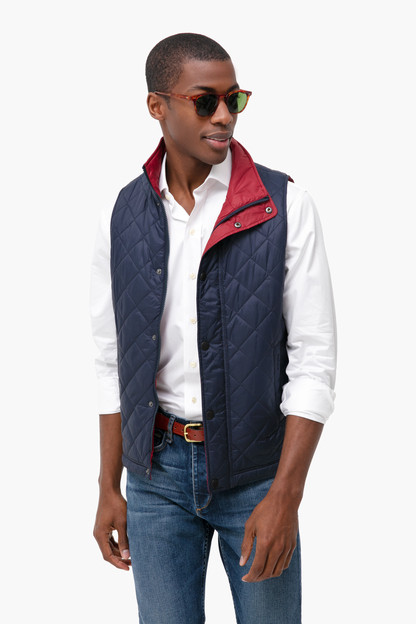Navy Ampleforth Gilet