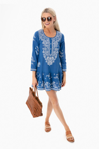 marine lotus beach dress