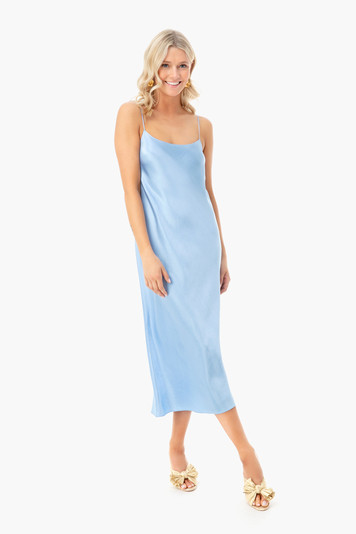 palisades slip dress