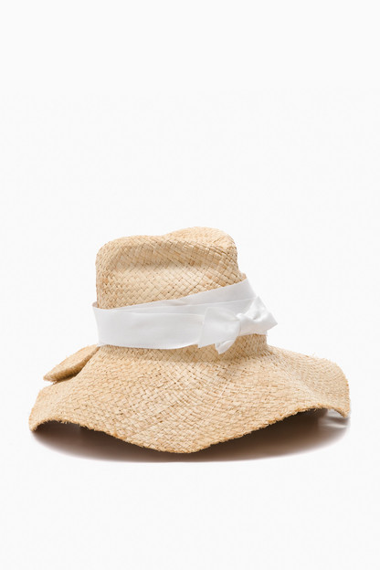 Natural and White First Aid Sun Hat