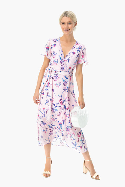 Floral Pink Blaire Dress