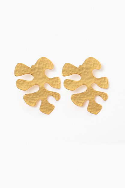 Palm Cut-Out Earrings