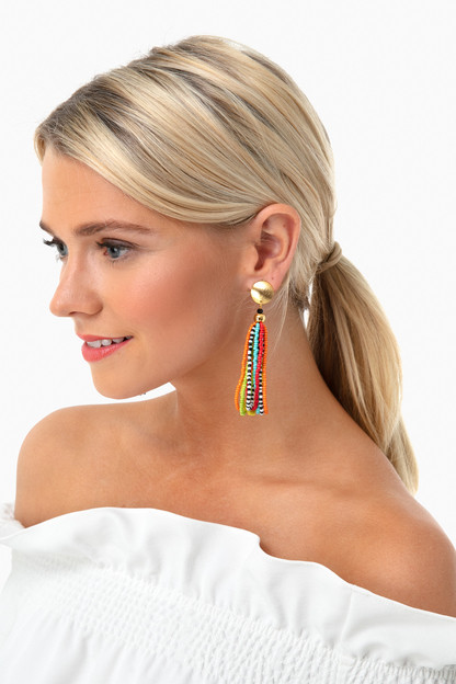 camila beaded earrings