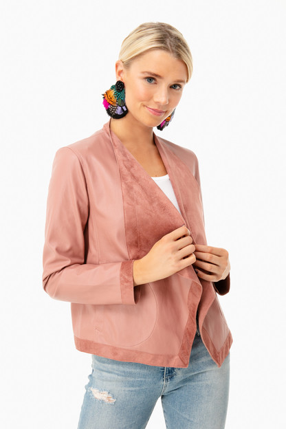 Rose Taupe Teagan Jacket