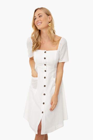 white ramona dress