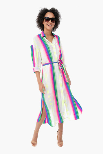 kerala stripe girlfriend dress
