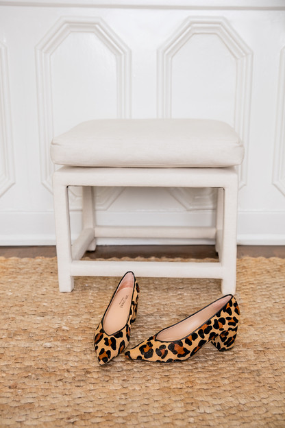 leopard willie pumps