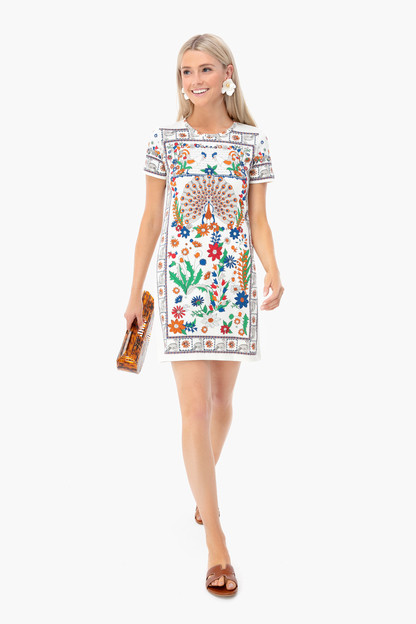 peacock meadow shirtdress
