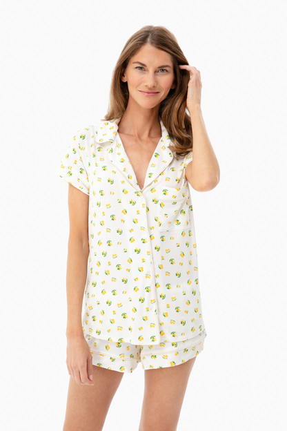 multi dianna short pj set