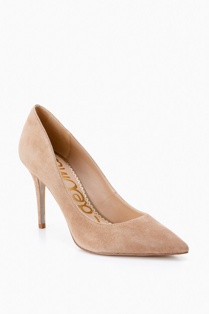 suede margie pumps