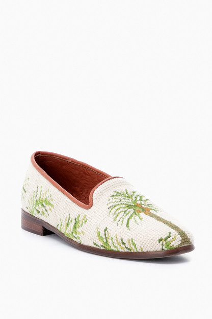 9e3920c05677 Palm Trees Needlepoint Loafer