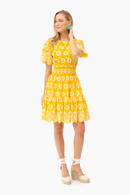 sunlight fit & flare dress