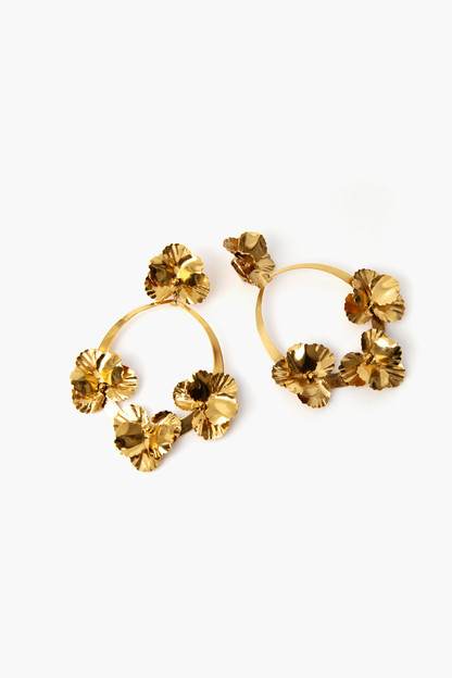 farida hoop earrings