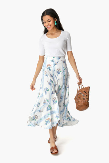 bouquet swing skirt