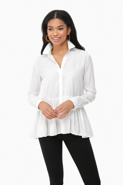 white charlotte blouse