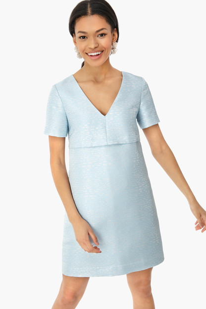 ice blue caroline dress
