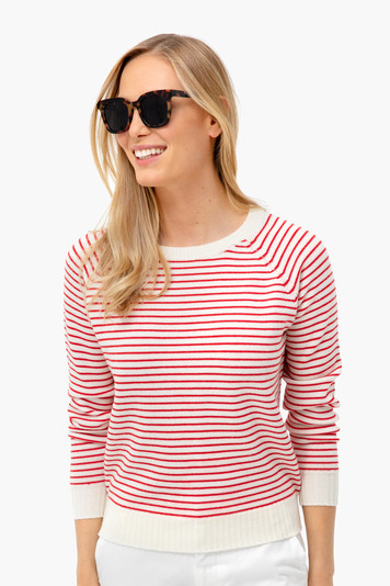 red striped emerson sweater