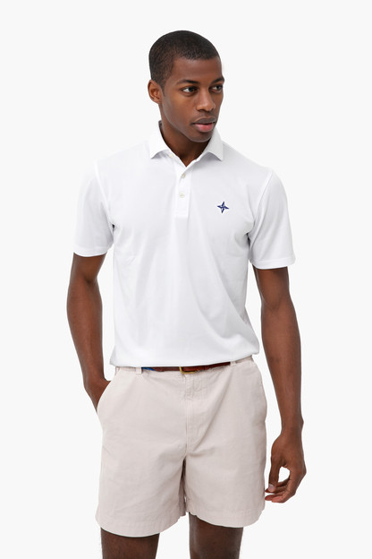 The White Tuckernuck Macdonald Polo