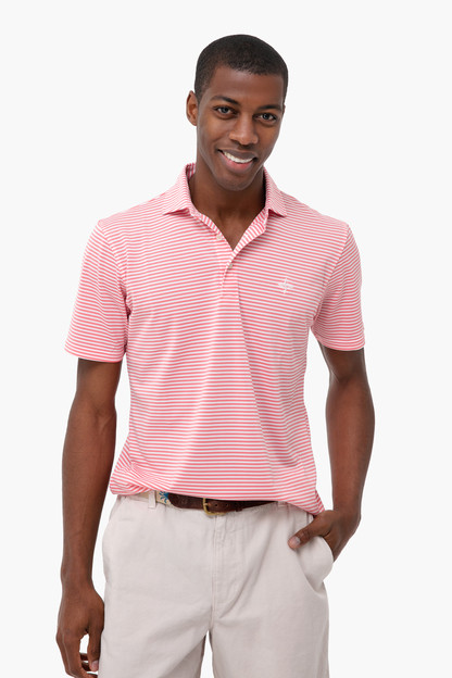 The Pink Stripe Tuckernuck Maxwell Polo