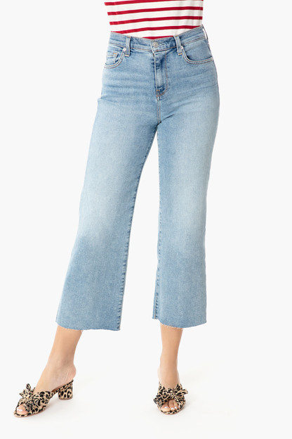 The Flora Cropped Alexa Jeans